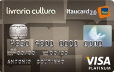 Livraria Cultura Itaucard 2.0 Platinum Visa