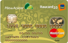 Pão de Açúcar Itaucard 2.0 Gold MasterCard