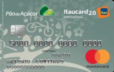 Pão de Açúcar Itaucard 2.0 Internacional Mastercard