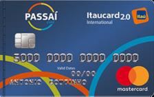 Passaí Itaucard 2.0 International Mastercard