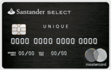 Santander Unique Mastercard Black