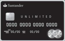 Santander Unlimited Mastercard Black