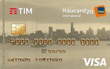 TIM Itaucard 2.0 Internacional Visa
