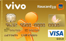 VIVO Itaucard 2.0 Gold Visa Pré
