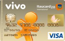 VIVO Itaucard 2.0 Internacional Visa Pós