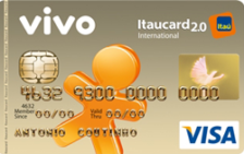 VIVO Itaucard 2.0 Internacional Visa Pré