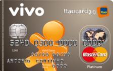 VIVO Itaucard 2.0 Platinum MasterCard Pré