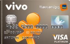 VIVO Itaucard 2.0 Platinum Visa Pré