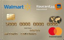 Walmart Itaucard 2.0 Internacional MasterCard