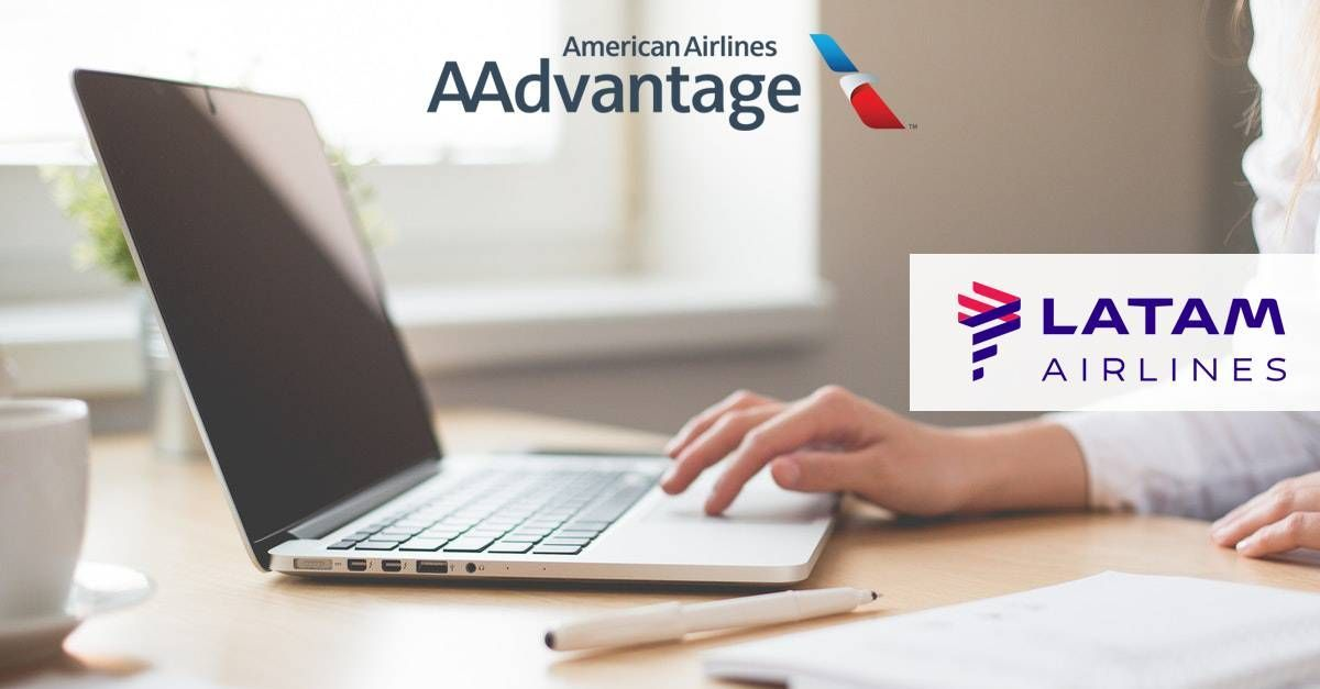 AA Advantage disponibiliza voos da LATAM para emissão online!