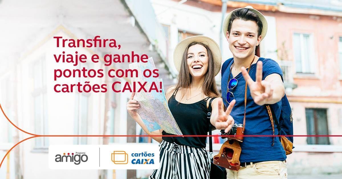 Programa Amigo oferece 50% dos pontos de volta para clientes Caixa!
