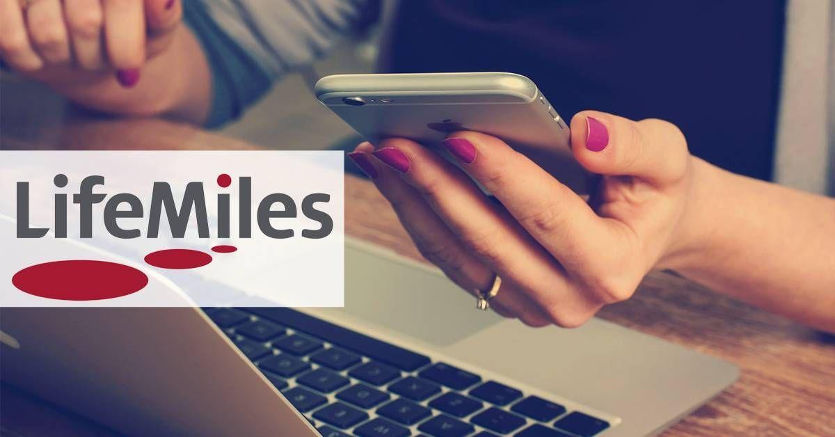Recebemos os pontos bônus do LifeMiles!