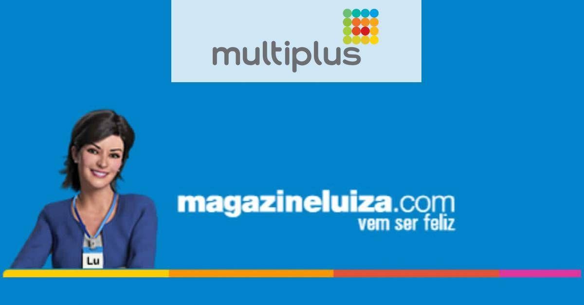 Somente Hoje: Ganhe 10 pontos Multiplus por real gasto no Magazine Luiza