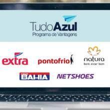 59e29d6b3 TudoAzul oferece 10 pontos por real gasto em compras online