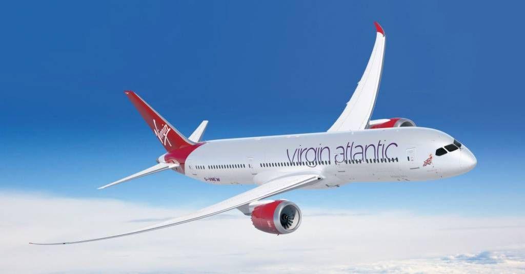avião virgin atlantic