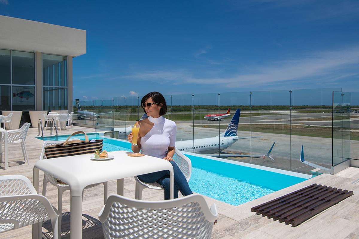 Sala VIP piscina terraço