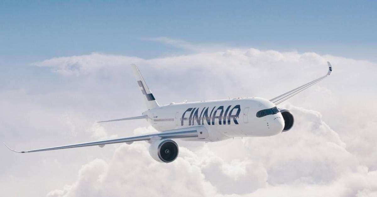 Finnair voando