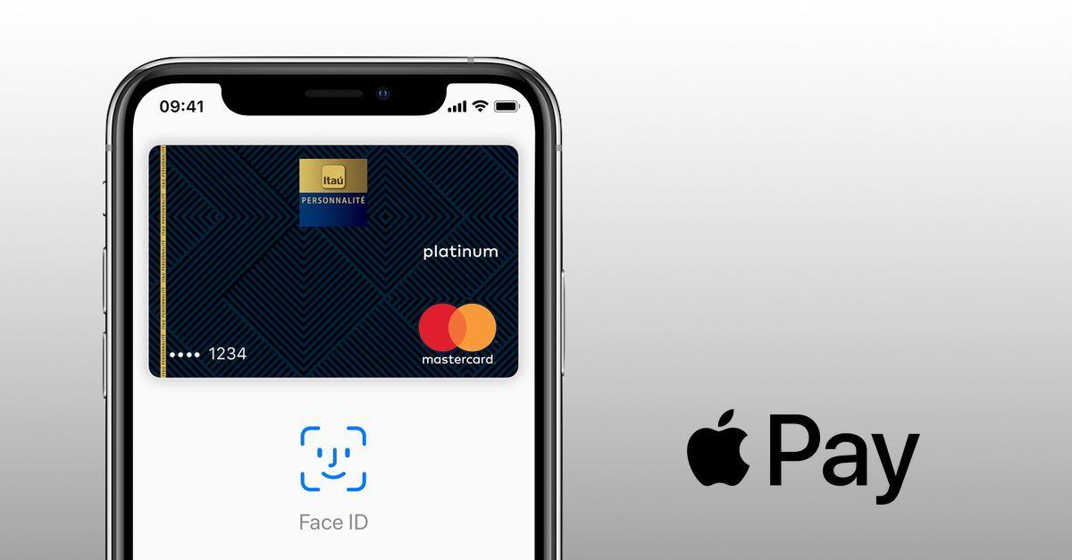 Apple pay via face id