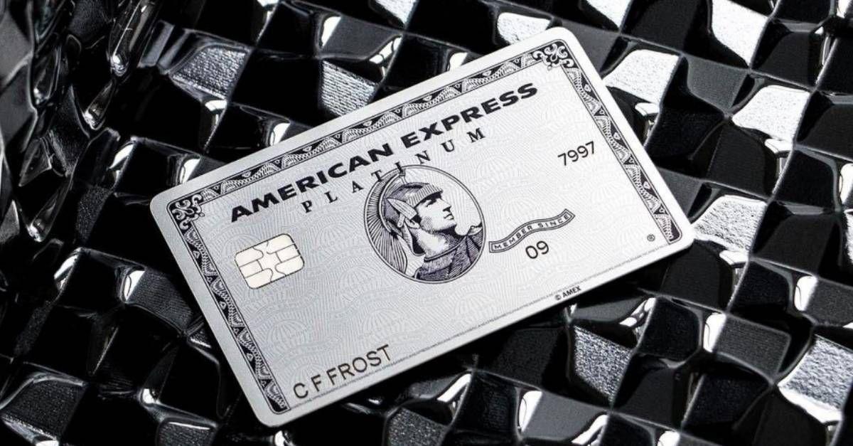 The Platinum Card status