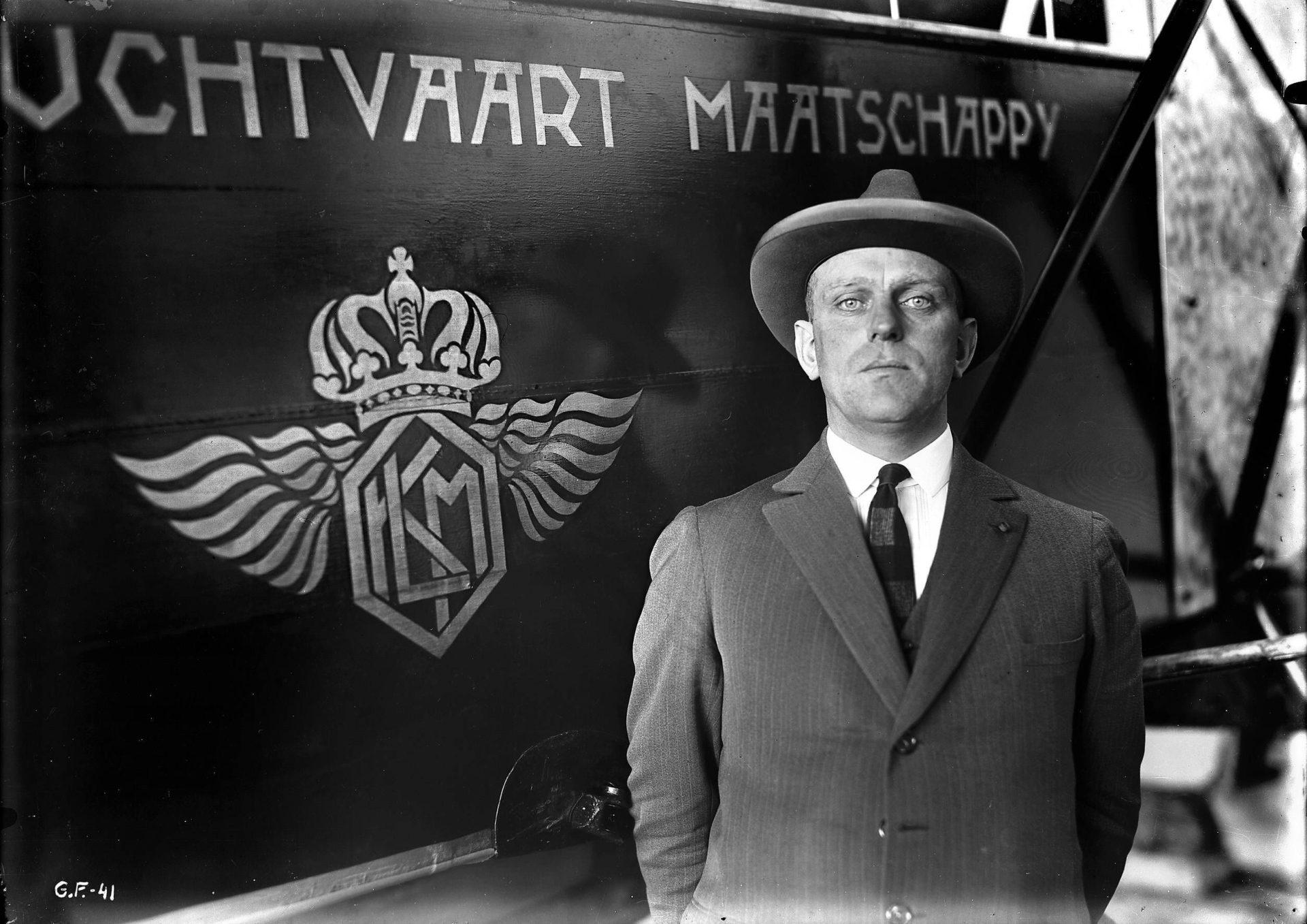 Fundador da KLM, Albert Plesman.