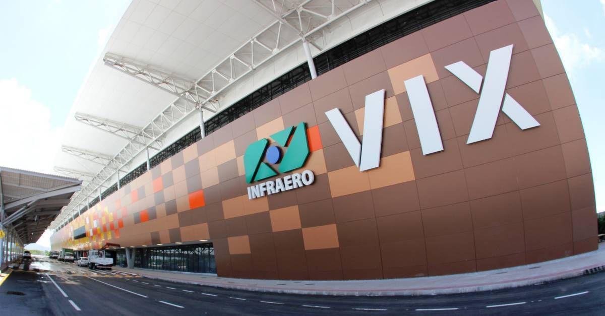 Fachada Aeroporto de Vitória