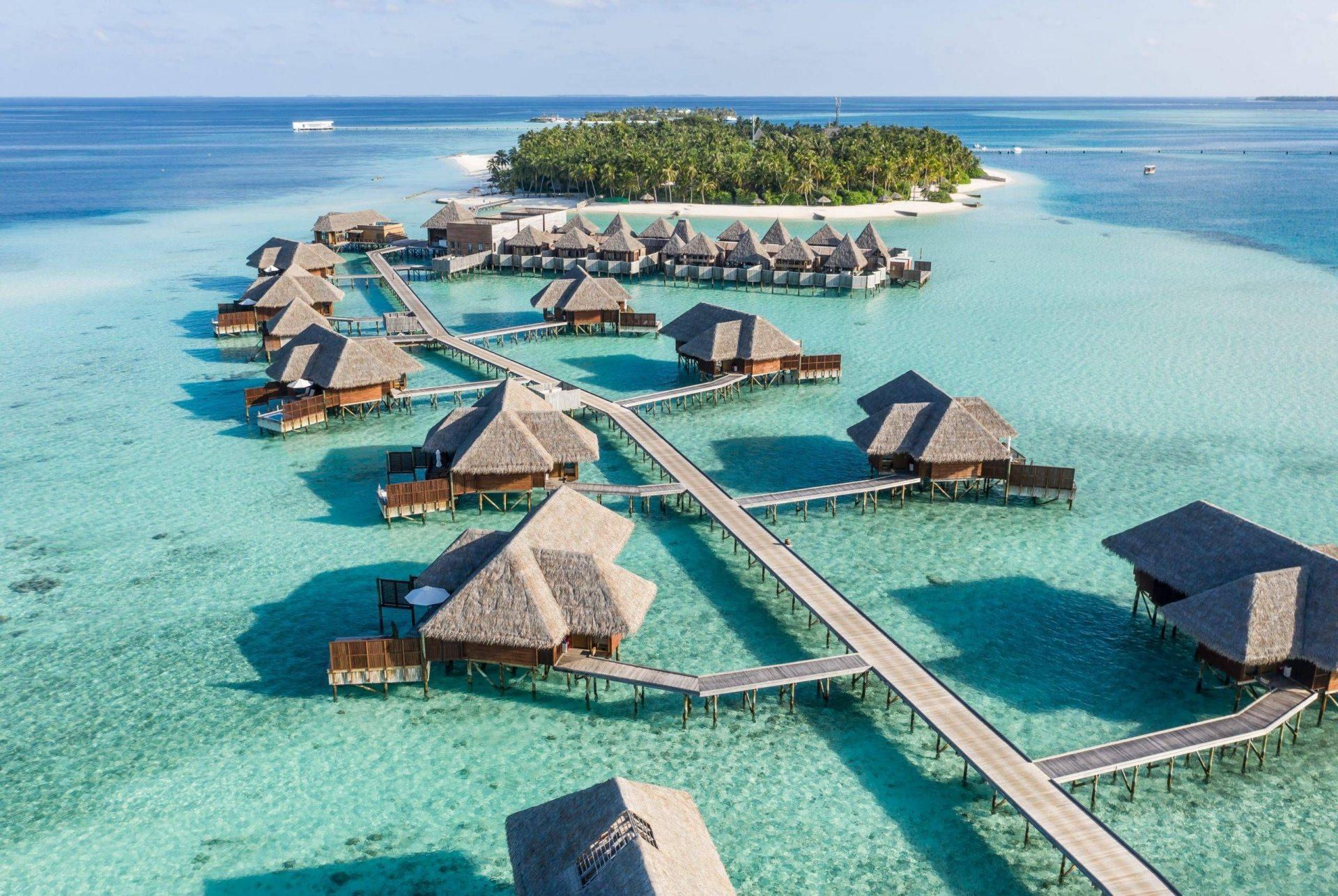 bangalô nas Maldivas com desconto