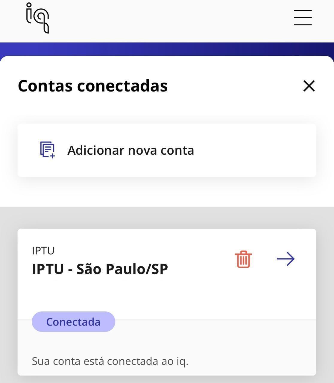 IPTU cartão crédito