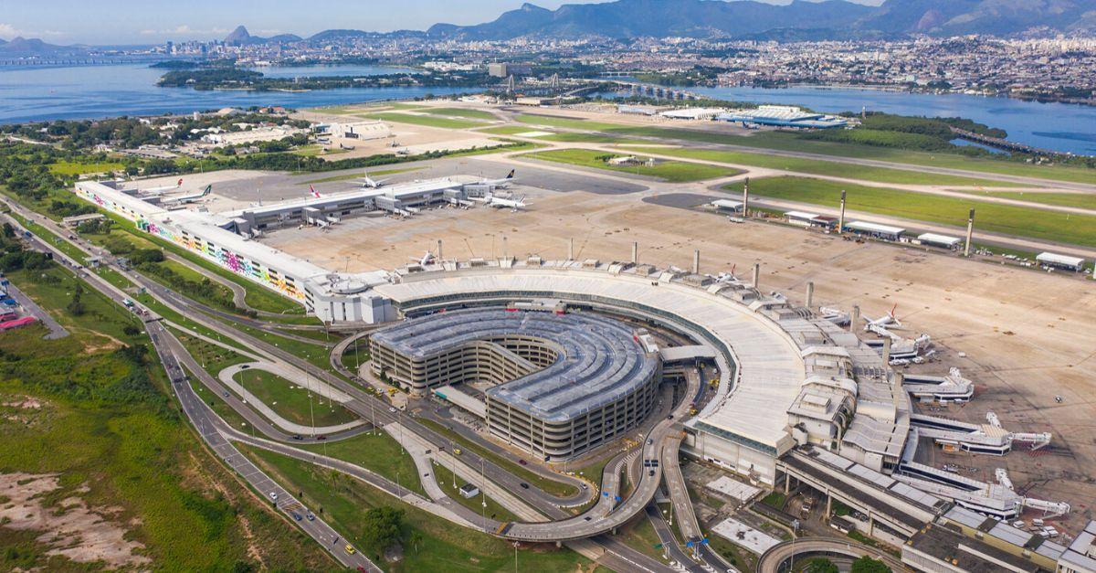 Foto aérea do RIOgaleão