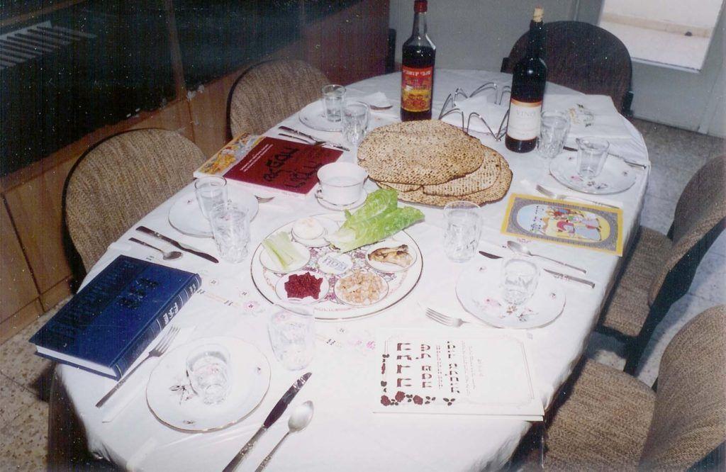 mesa de pessach