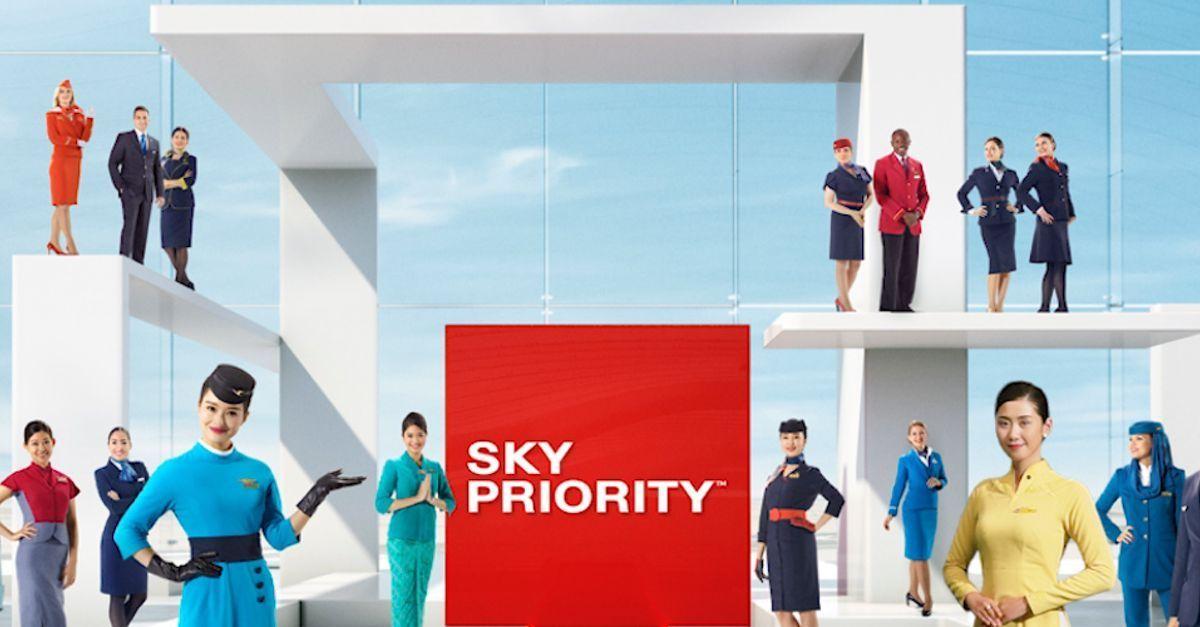 SkyTeam SkyPriority