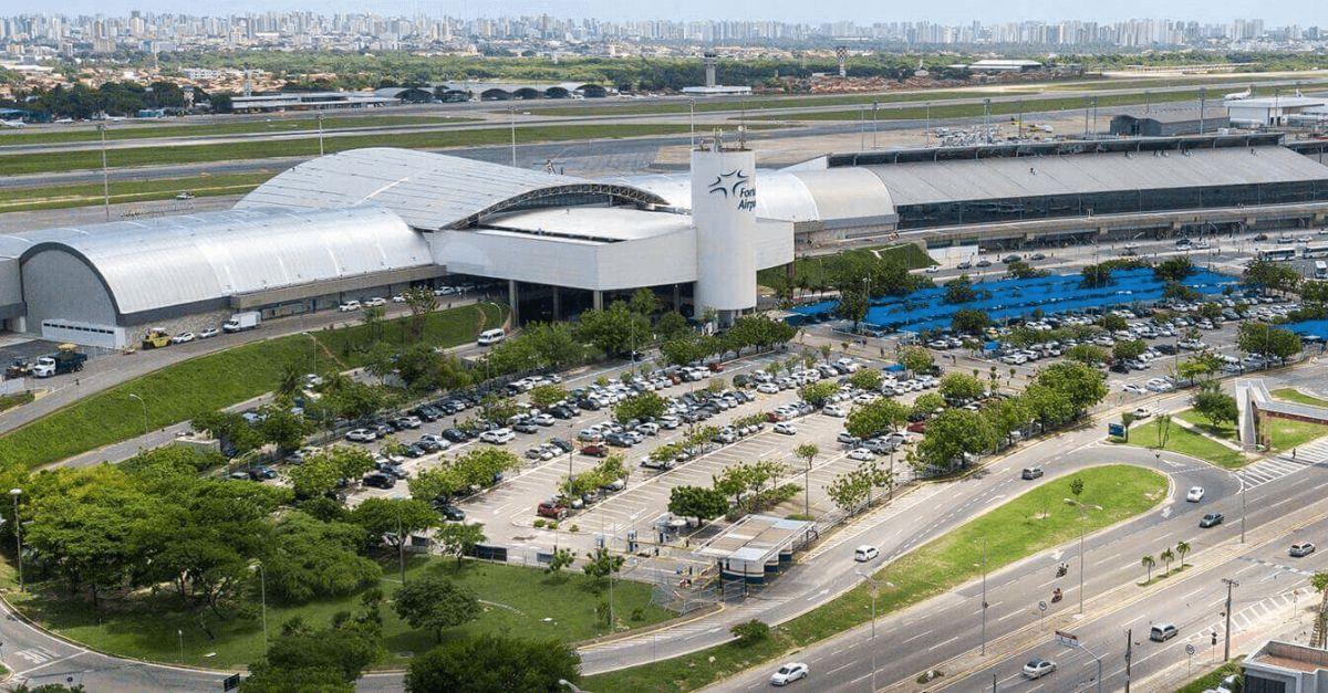 Aeroporto Fortaleza teste vacinação
