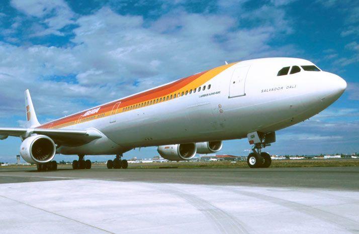 Iberia A340-600 livery antigo