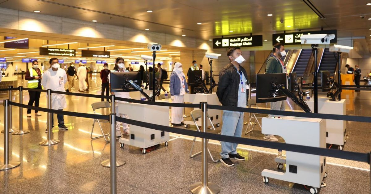 Doha novos procedimentos desembarque