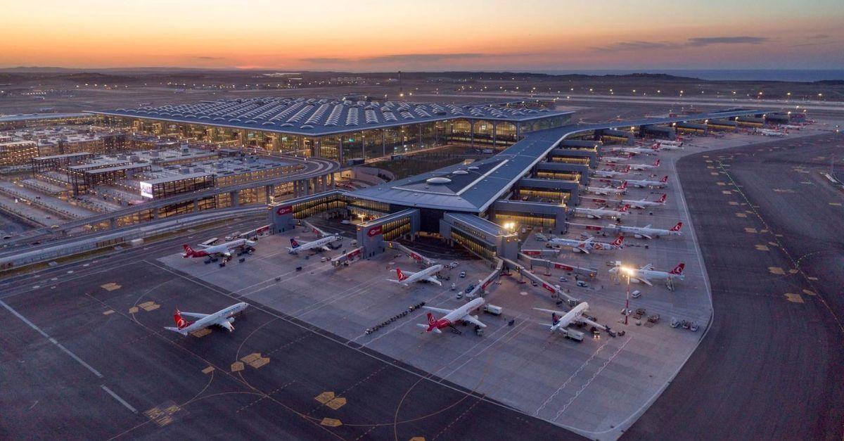 Aeroporto de Istambul COVID-19