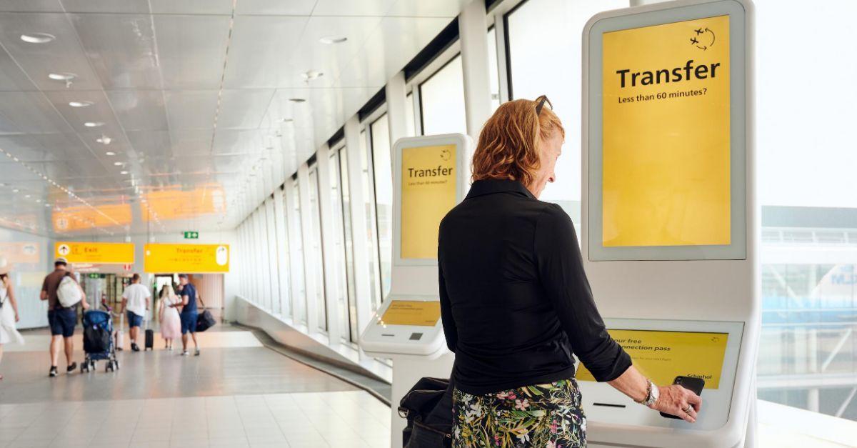 Aeroporto de Schiphol conexão