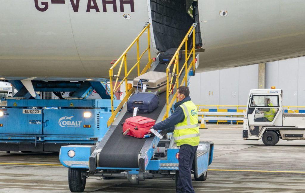 Conveyor Aeronave Aeroporto