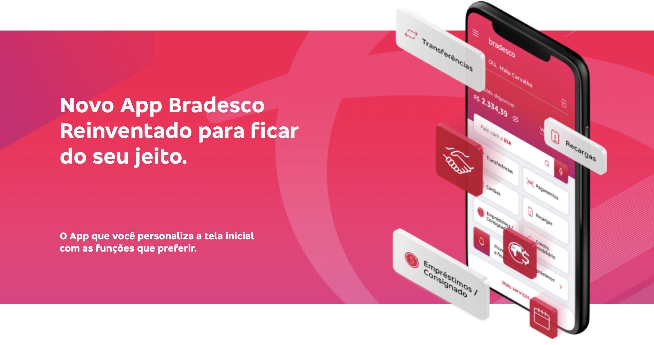 novo App Bradesco