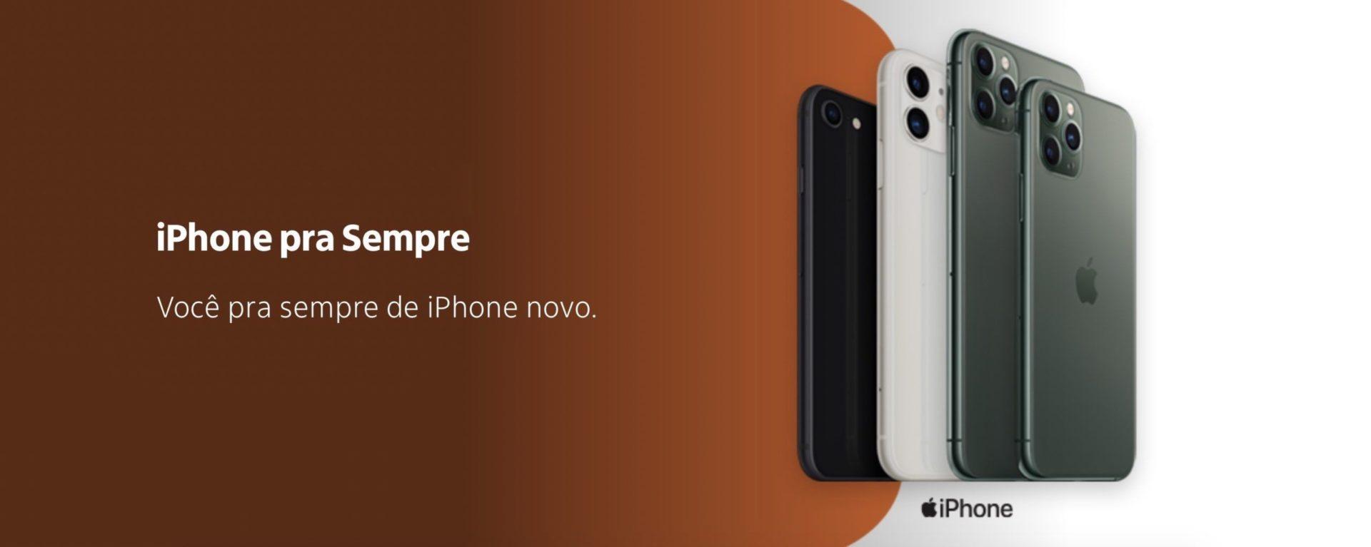 Itaú iPhone pra Sempre