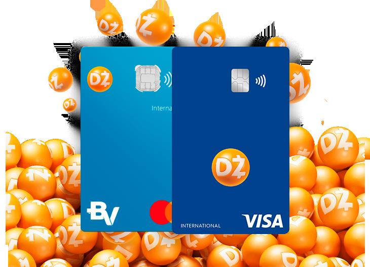 O cartão de crédito Dotz