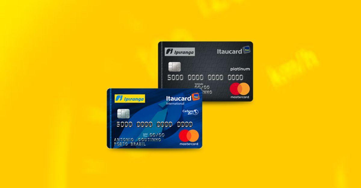 cartões de crédito co-branded da Ipiranga