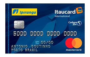 Cartão Ipiranga Itaucard Internacional
