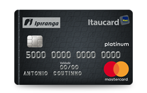 Cartão Ipiranga ItaucardPlatinum
