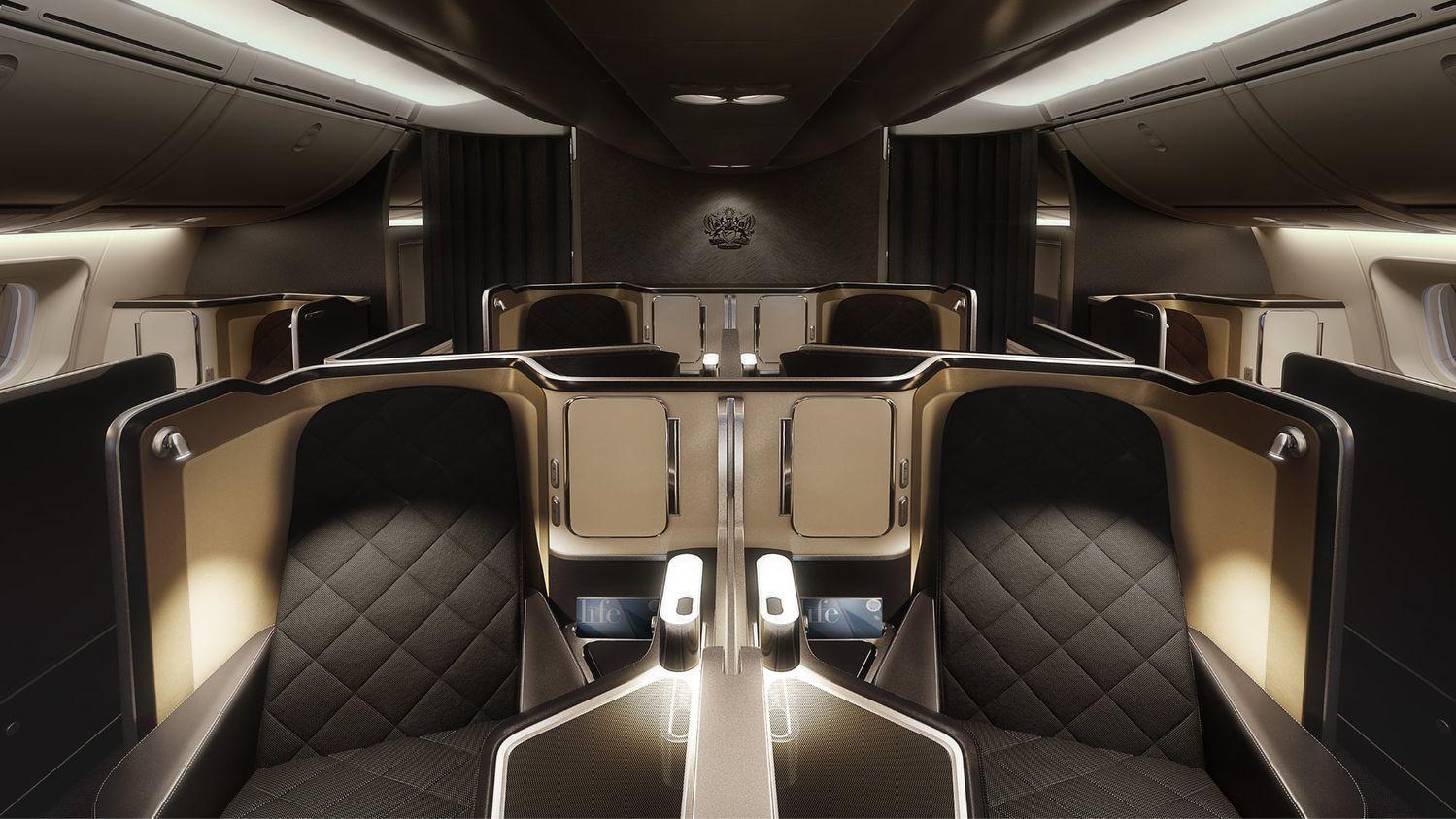 nova Primeira Classe da British Airways