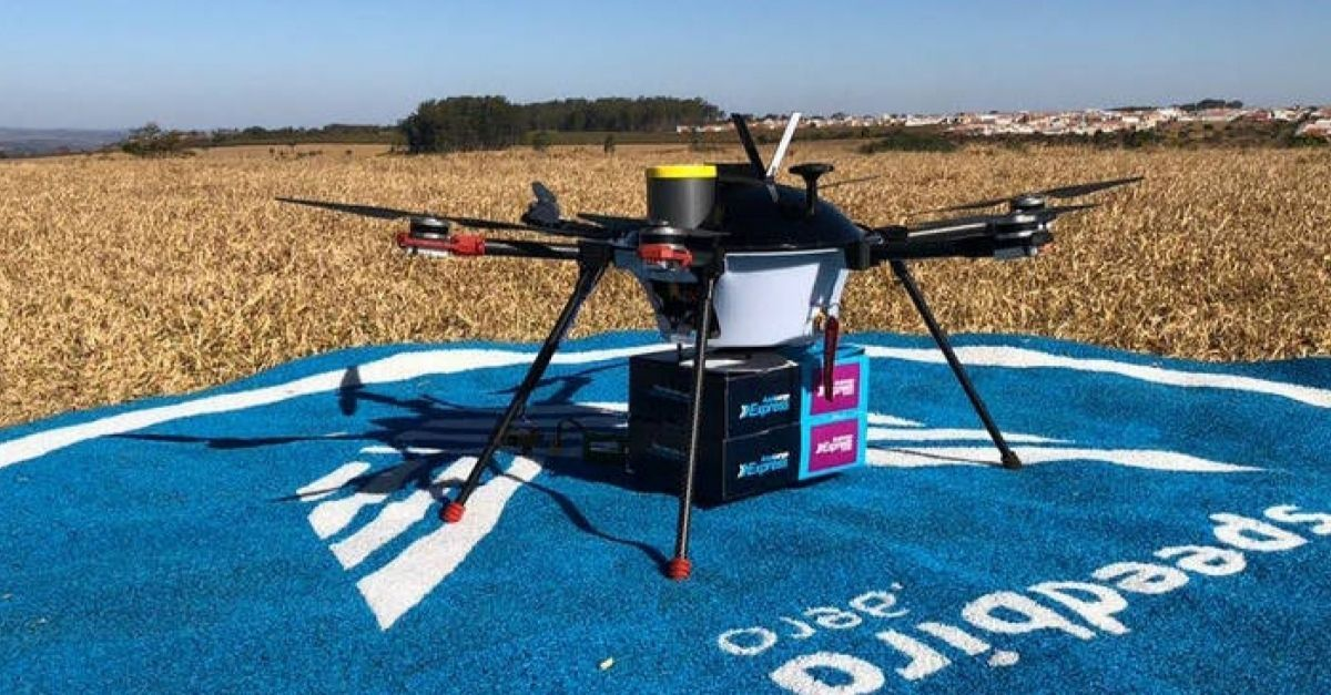 Azul drone