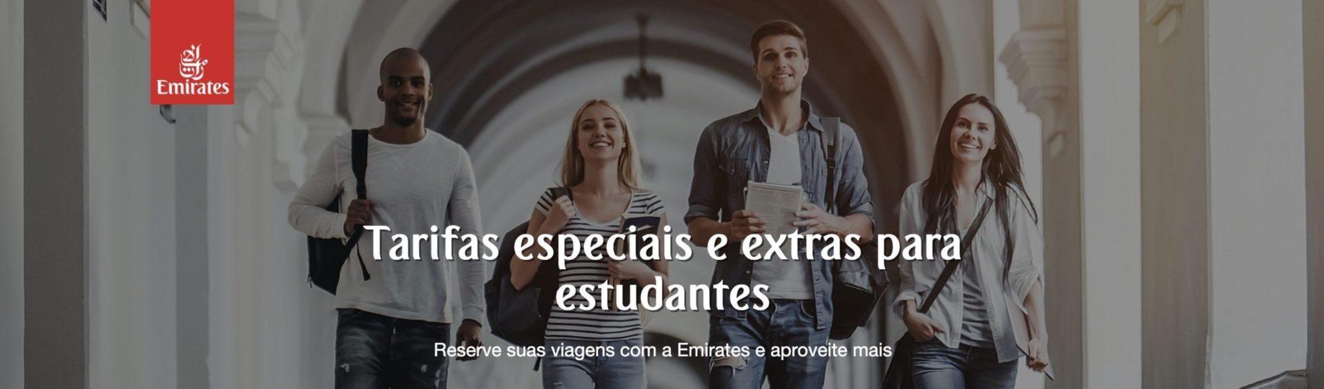 Emirates desconto estudantes