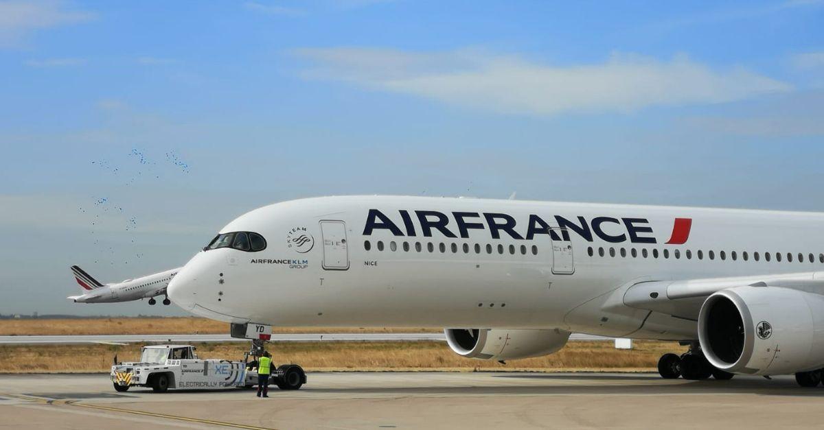 Air France voos restrições