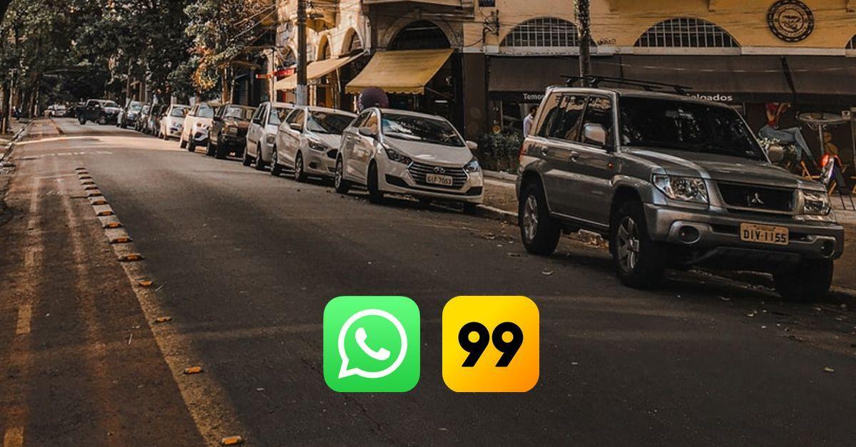 99 corridas WhatsApp