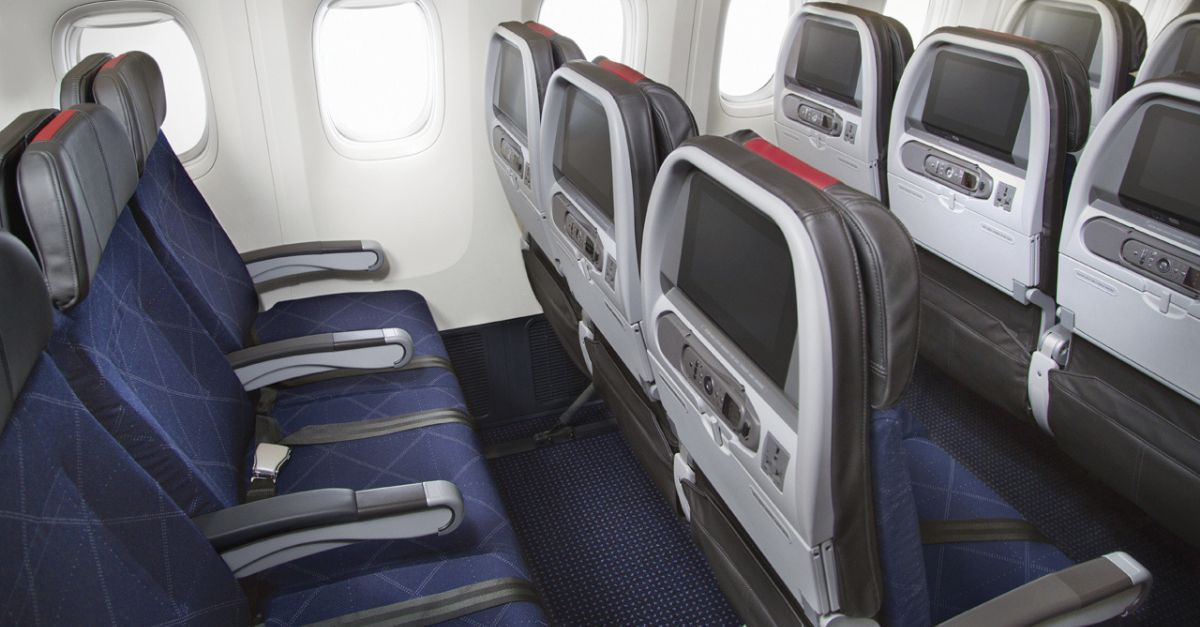 American Airlines assento preferencial