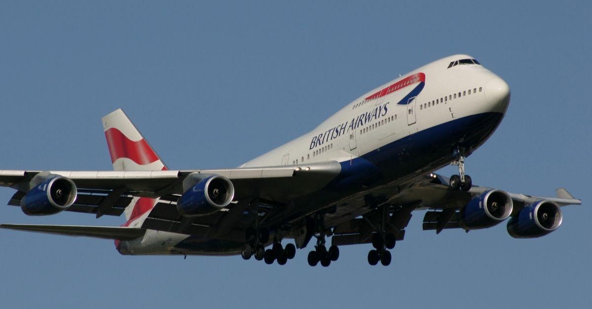 conta família british airways