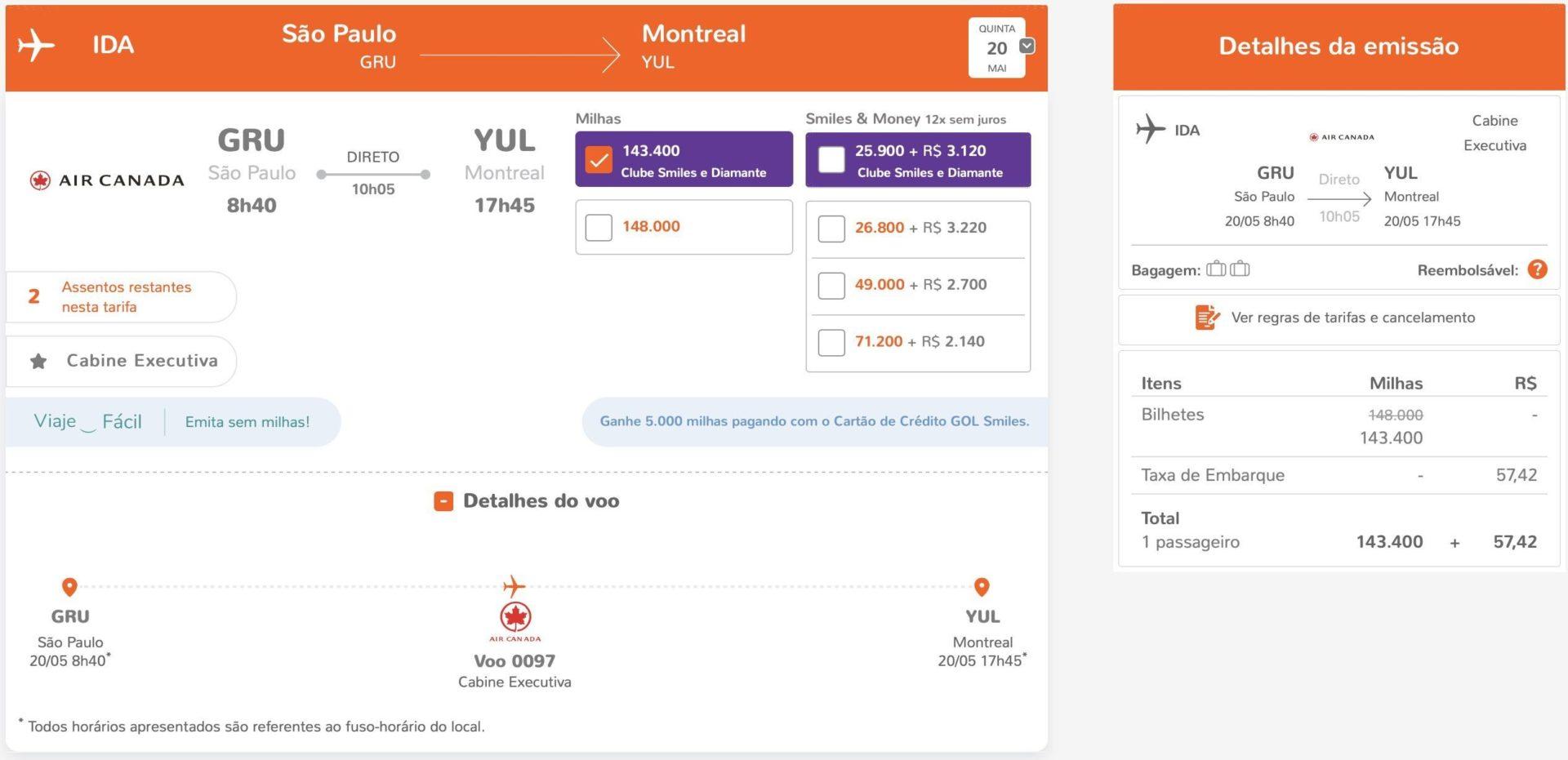 Air Canada Montreal
